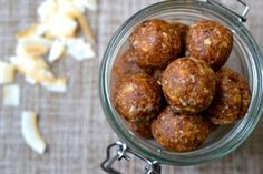 A recipe for Coconut and Ginger Energy Balls, these protein rich bites are SCD Legal, Grain/Gluten Free, Dairy Free, Vegan and Paleo