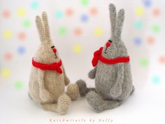 Crochet toy pattern / amigurumi bunny pattern / от KnitAmiracle