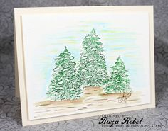 Great Impressions   Ruza Rebel   J71 Snowy Trees   Winter