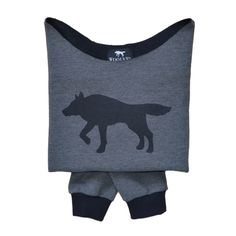Wolf Sweatshirt from Woolves #sweatshirt #black #wolf #Woolves
