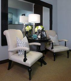 New office in Newport Beach by Jessica Bennett Interiors.