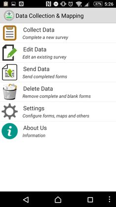 Guide for Mobile Field Survey App to Collect Data