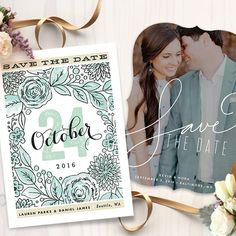 Minted Save the Dates a $300 giveaway