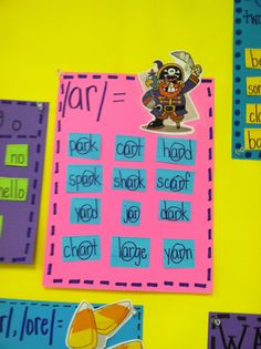 Life in First Grade: anchor charts. Lots of great anchor charts for reading - Word Families Kindergarten Literacy, Literacy Activities, Reading Activities, Literacy Centers, Word Study, Word Work, Teaching Reading, Teaching Ideas, Guided Reading