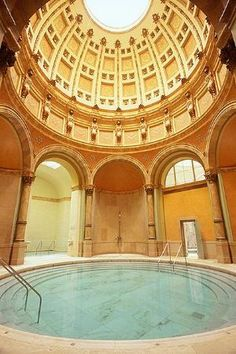 Friedrichsbad Roman-Irish Thermal Bath. Baden-Baden, Germany. 150 years of curative relaxation.