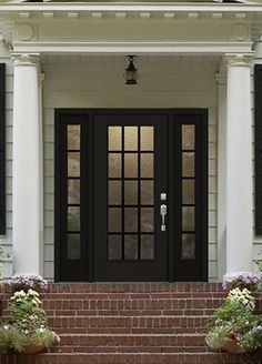 Therma tru classic craft canvas collection door painted for Harvey therma tru doors