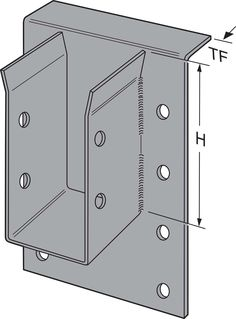 LEG/MEG/EG connectors are designed to support large members typically used in glulam beam construction. Carport Plans, Shed Plans, House Plans, Building A Storage Shed, Built In Storage, Timber Buildings, Small Buildings, Steel Furniture, Industrial Furniture