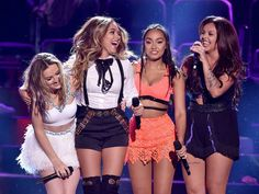 Little Mix on the stage