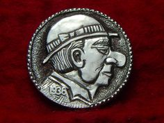 1936 D Hobo Nickel The Man with Big Nose 423 | eBay
