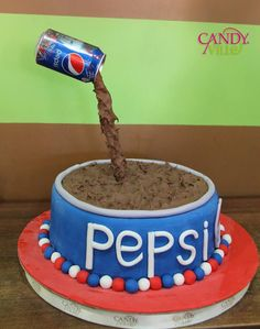 Pepsi Cake.