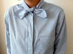Creatures of Comfort: Jade Blouse in Blue Chambray