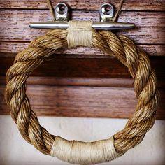 Rope Towel Holder | 25 Nautical Picks
