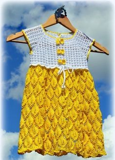 Click to view pattern for - Crochet dress for girl