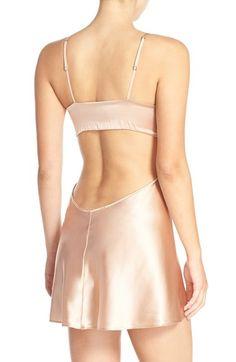 Embroidered Silk Chemise Silk Nightgown, Silk Chemise, Embroidered Silk, Night Gown, Nordstrom, Swimwear, Fashion, La Perla, Pearls