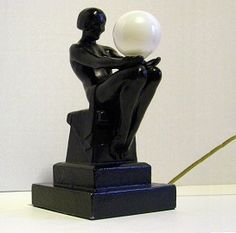 Betty Beck Art Deco Lamp