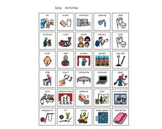 Save valuable time and find already created activities, from the Boardmaker Community and Premium Activities, to meet all your students' individual needs. Time Icon, Visual Cue, Daily Activities, Autism, School, Cards, Everyday Activities, Maps, Playing Cards