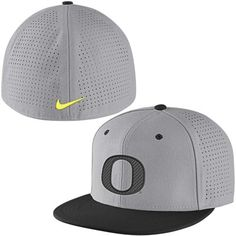 Oregon Ducks Nike Vapor True College Authentic Baseball Fitted Performance  Hat - Gray f265f6e15
