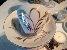 Beautiful Bone China from Europe with gold designs Tea cup party decoration favors soy candle only pick your favorite fragrance. by MappiCandles on Etsy