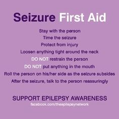 How to Help Someone Having A Seizure - Brooklyn Active Mama