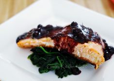 ... Molasses Salmon | Recipe | Salmon, Pomegranates and Glazed Salmon