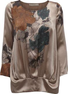 Nude Geisha print blouse | AW12