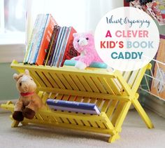Uheart Organizing: A Clever Kid's Book Caddy