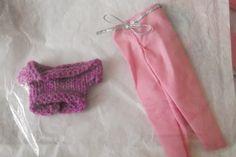 Handmade  Trouser Set Outfit for Barbie Dolls   (nannycheryloriginal) 1269 £3.50