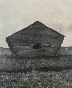 Vernacular barn from the North of Sweden, in Västerbotten and Norrbotten region.