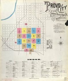 Free links for Sanborn Fire Insurance Maps. Drawn up for many cities & towns from late 1800's to mid-1900's.  Wonderful sources of insight & detail on how & where your ancestors lived & worked. The maps list almost all buildings, streets, places of work, parks, schools, many residences, & town/city layouts.  Maps from different years show changing street names, boundaries & land use.  The very detailed maps tell if a factory had sprinkler systems, elevators, & was made of brick, wood, or stone.