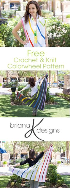 Knit or crochet! Both patterns are free