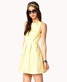 Dotted A-line Dress | FOREVER 21 - 2034572850