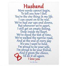 husband love plaque