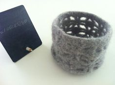 felted bowl by Kathrin Rehde