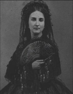Archduchess Charlotte of Austria, later Empress of Mexico,  1860s who was a cousin of queen victoria