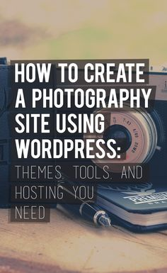 Are you someone who's planning to build a photography site? Here's a super guide that can help you find awesome themes, tools and hosting you need. Click the PIN for the guide!