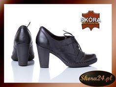 D420 Sznurowane PÓŁBUTY SKÓRA Czarny+Stalowy 36-40 (5259989112) - Allegro.pl - Więcej niż aukcje. Oxford Shoes, My Style, Women, Fashion, Moda, Fashion Styles, Fashion Illustrations, Woman