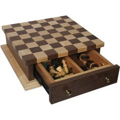 Amish, Wooden Board Games, Chess Table, Small Wood Projects, Furniture Direct, Chess Pieces, Wood Toys, Walnut Wood, Solid Wood