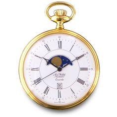 RELOJ DE BOLSILLO AEROWATCH NEWCHATEL QUARTZ Old Pocket Watches, Grandfather Clock, Glasses, Accessories, Moda Masculina, Pocket Watches, Pockets, Gold, Tatuajes