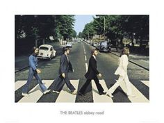 The Beatles ABBEY ROAD Premium Gallery Poster Print