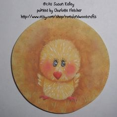 With a peep peep here, and a tweet tweet there... by Tracy Few on Etsy