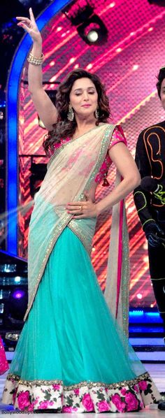 Madhuri Dixit in Peppermint Diva