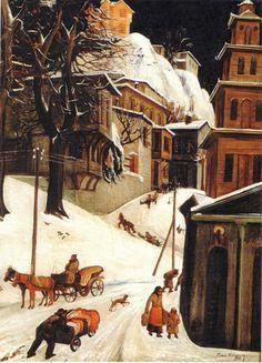 Zlatyu Boyadzhiev - Winter in Plovdiv (1939)