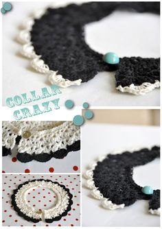 Another gorgeous example of the collar pattern by Lulu Loves. This time made by Bindu of the blog For my girl nina.