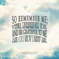So remember Me