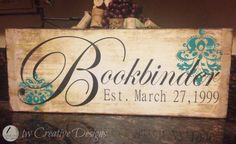 Family Established Signs by twcreativedesigns on Etsy, $25.00