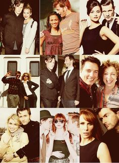 I love the one at the bottom of David and Billie and the one of Karen Arthur and Matt. I was quite sad to see that there wasn't one of Matt and Alex? Oh well <3
