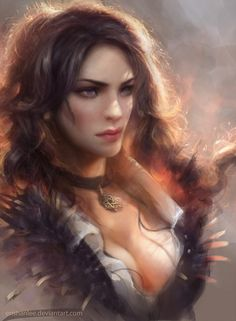 Yennefer by Enshanlee.deviantart.com on @DeviantArt