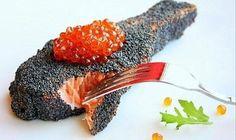 Рыбные стейки в маковой панировке