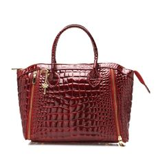 Marlafiji Marla-Bridie Croc Printed Leather Bag
