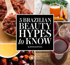 5 Awesomely GORGEOUS Brazilian Beauty Secrets!